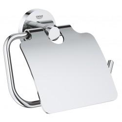 Держатель туалетной бумаги с крышкой Grohe Essentials 40367001