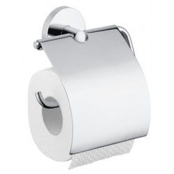 Держатель туалетной бумаги с крышкой Hansgrohe Logis 40523000