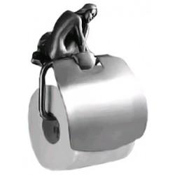 Держатель туалетной бумаги с крышкой Art&Max Juno AM-0719-T