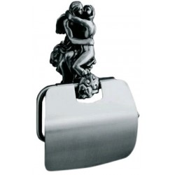 Держатель туалетной бумаги с крышкой Art&Max Romantic AM-0819-T