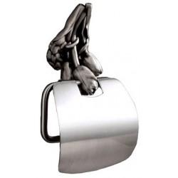 Держатель туалетной бумаги с крышкой Art&Max Tulip AM-0829-T