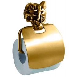 Держатель туалетной бумаги с крышкой Art&Max Rose AM-0919-B