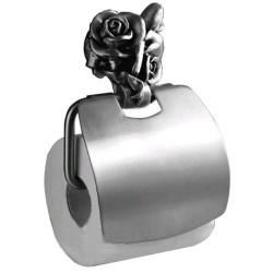 Держатель туалетной бумаги с крышкой Art&Max Rose AM-0919-T