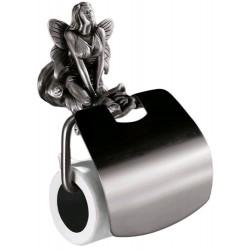 Держатель туалетной бумаги с крышкой Art&Max Fairy AM-0989-T