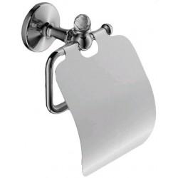 Держатель туалетной бумаги с крышкой Art&Max Antic Crystal AM-2683SJ-Cr