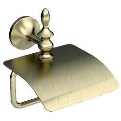Держатель туалетной бумаги с крышкой Art&Max Bohemia AM-4283-Br