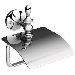 Держатель туалетной бумаги с крышкой Art&Max Bohemia AM-4283-Cr