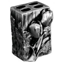Подставка для зубных щеток металлическая Art&Max Tulip AM-0082B-T