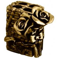 Подставка для зубных щеток металлическая Art&Max Rose AM-0091B-B