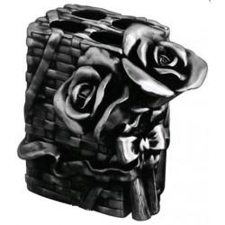 Подставка для зубных щеток металлическая Art&Max Rose AM-0091B-T