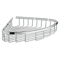 Полочка-корзинка одинарная, угловая Grohe Bau Cosmopolitan 40663001