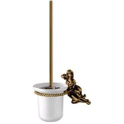 Туалетный ершик с колбой стеклянной Art&Max Athena AM-0611-B
