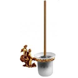 Туалетный ершик с колбой стеклянной Art&Max Romantic AM-0811-B