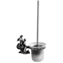 Туалетный ершик с колбой стеклянной Art&Max Romantic AM-0811-T