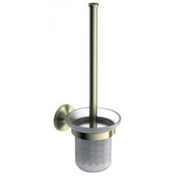 Туалетный ершик с колбой стеклянной Art&Max Bohemia AM-4281-Br