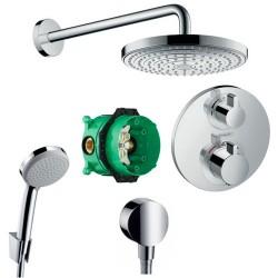 Душевая система с термостатом Hansgrohe Raindance Select 15758000-26466000