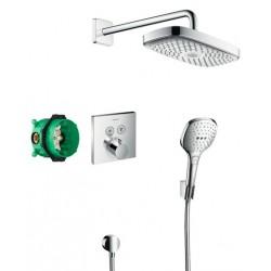 Душевая система встраиваемая с термостатом Hansgrohe ShowerSelect 27296000