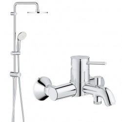 Душевая система со смесителем для ванны Grohe BauClassic 2738932865