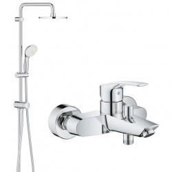 Душевая система со смесителем для ванны Grohe Eurosmart New 2738933300