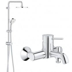 Душевая система со смесителем для ванны Grohe BauClassic 2739432865