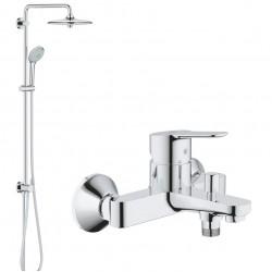 Душевая система со смесителем для ванны, поворотная Grohe BauEdge 2742123334