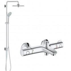 Душевая система с термостатом для ванны, поворотная Grohe Grohtherm 800 2742134567