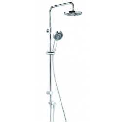 Душевая система без смесителя и термостата Kludi Dual 6609105-00