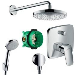 Душевая система со смесителем Hansgrohe Raindance Select 71405000-26466000