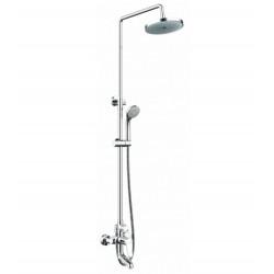 Душевая система со смесителем для ванны Bravat Eco F6111147C-A-RUS