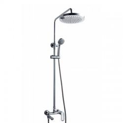 Душевая система со смесителем для ванны Bravat Opal F6125183CP-A1-RUS