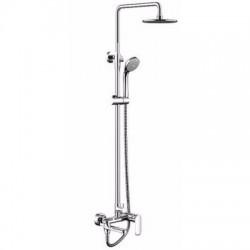 Душевая система со смесителем для ванны Bravat Opal R F6125183CP-A2-RUS