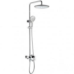 Душевая система со смесителем для ванны Bravat Riffle F6336370CP-A-RUS