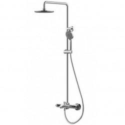 Душевая система с термостатом для ванны Bravat Waterfall F639114C-A2-RUS