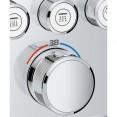 Душевая система встраиваемая с термостатом, с изливом Grohe Rainshower SmartControl 2912126458