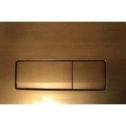 Кнопка для инсталляции для унитаза Geberit Delta 51 115.105.BR.1 (115105BR1) бронзовая