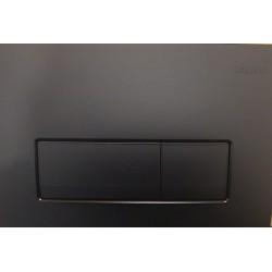 Кнопка для инсталляции для унитаза Geberit Delta 51 115.105.16.1 (115105161) черная (не оставляет отпечатков пальцев)