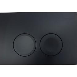 Кнопка для инсталляции для унитаза Geberit Delta 21 115.125.16.1 (115125161) черная (не оставляет отпечатков пальцев)