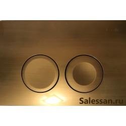 Кнопка для инсталляции для унитаза Geberit Delta 115.125.BR.1 (115125BR1) бронзовая