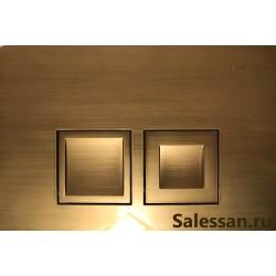 Кнопка для инсталляции для унитаза Geberit Delta 115.135.BR.1 (115135BR1) бронзовая
