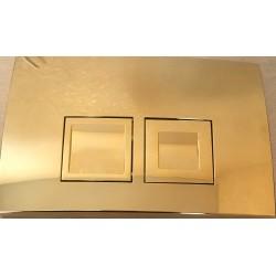 Кнопка для инсталляции для унитаза Geberit Delta 50 115.135.GL.1 (115135GL1) золотая