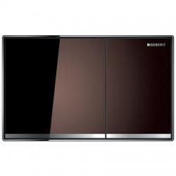 Кнопка для инсталляции для унитаза Geberit Sigma 60 115.640.SQ.1 (115640SQ1) коричневая