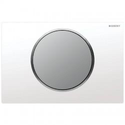 Кнопка для инсталляции для унитаза Geberit Sigma 10 115.758.KL.5 (115758KL5) белая-хром матовый