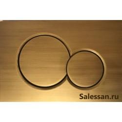 Кнопка для инсталляции для унитаза Geberit Sigma 01 115.770.BR.5 (115770BR5) бронзовая