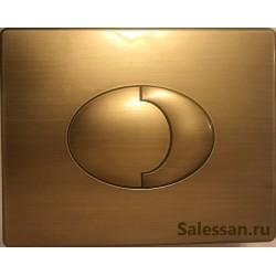 Кнопка для инсталляции для унитаза Grohe Skate 38506BR0 бронзовая