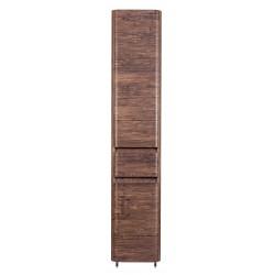 Шкаф пенал Атлантика 35 люкс старое дерево