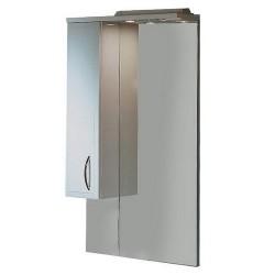 Шкафчик зеркальный 1 дверца распашная Акватон Марсия 1.A007.5.02M.S01.L (1A007502MS01L)