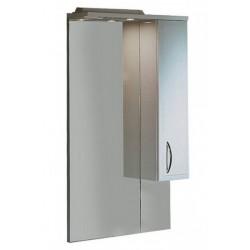 Шкафчик зеркальный 1 дверца распашная Акватон Марсия 1.A007.5.02M.S01.R (1A007502MS01R)