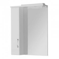 Шкафчик зеркальный 1 дверца распашная Акватон Онда 1.A009.8.02O.N01.L (1A009802ON01L)