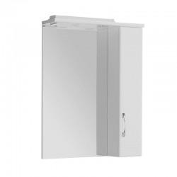 Шкафчик зеркальный 1 дверца распашная Акватон Онда 1.A009.8.02O.N01.R (1A009802ON01R)