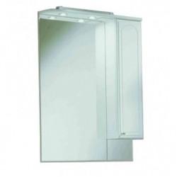 Шкафчик зеркальный 1 дверца распашная Акватон Майами 1.A047.5.02M.M01.R (1A047502MM01R)
